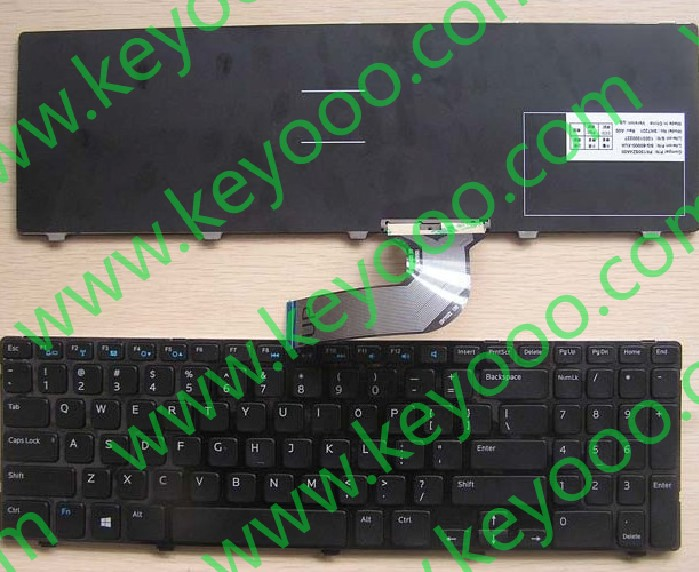 DELL inspiron 15v-1316 3521 us layout keyboard
