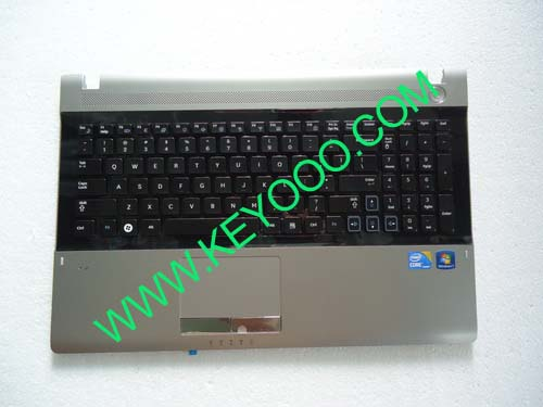 Samsung NP-RV511 with silver palmrest touchpad us keyboard