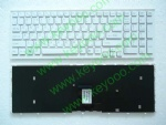 SONY VPC-EB with white frame ru layout keyboard