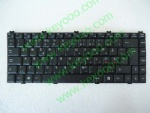 Hasse SW8 HP840 black nd layout keyboard