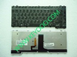 Toshiba M500 M501 M505 L526 Glossy with backit us keyboard
