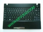 Samsung NP-300V3A with black palmrest touchpad us keyboard