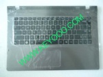 Samsung NP-QX411 with grey palmrest touchpad us keyboard